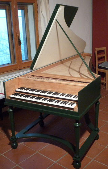 Zell Double Manual Harpsichord